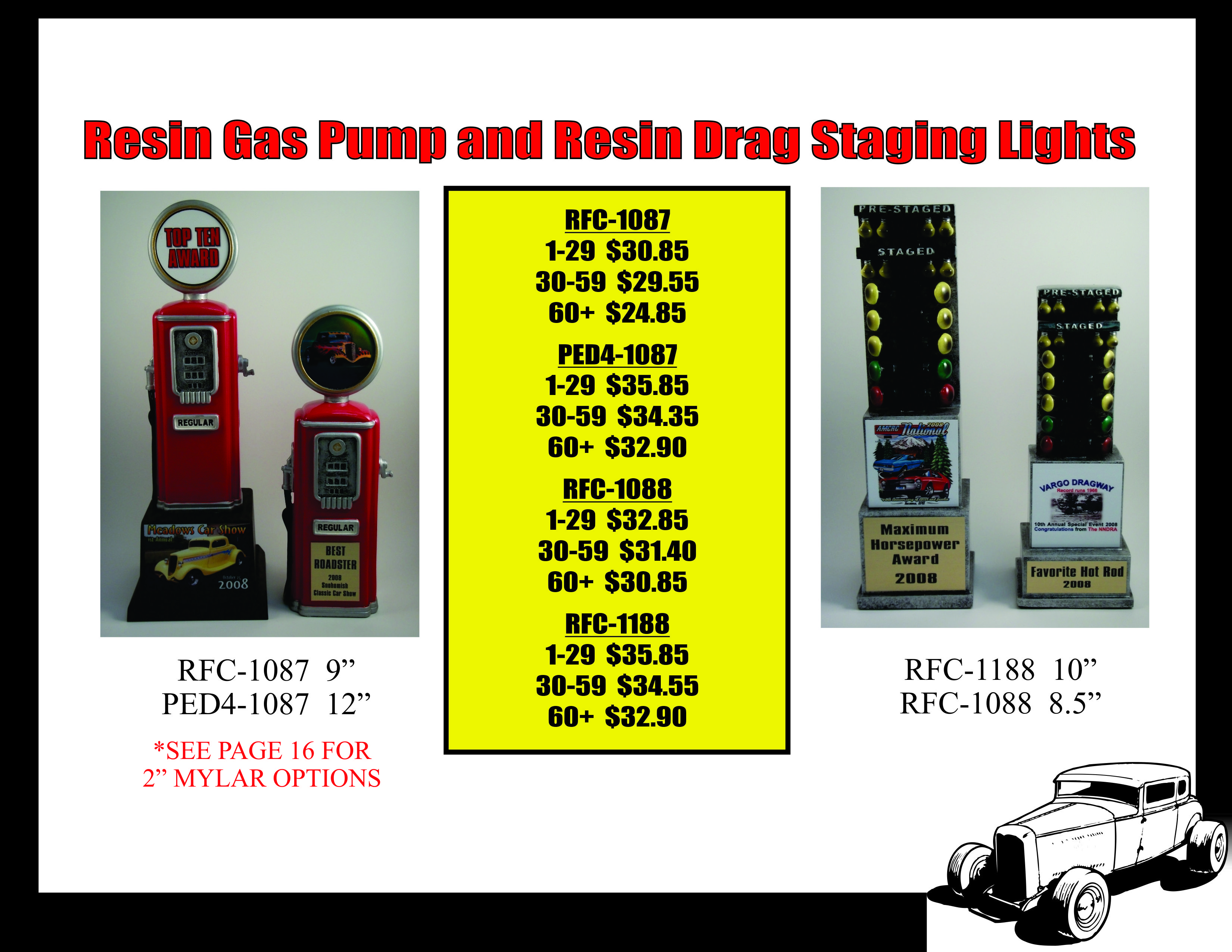 Gas Pump and Staging Lights 2015
