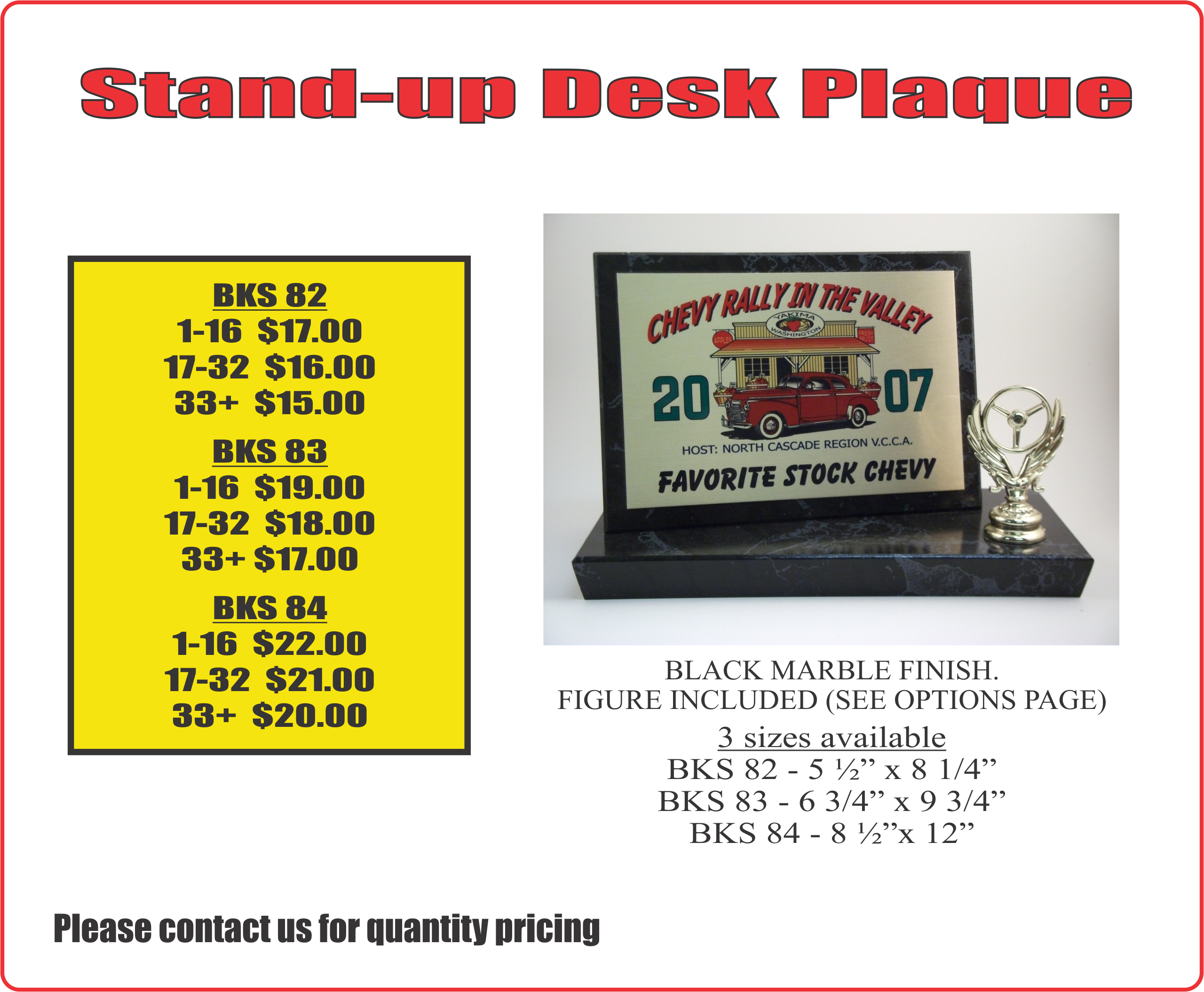 Stand Up Desk Plaque1